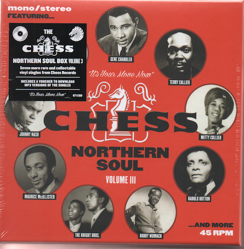 Chess Northern Soul Volume 3 7X 7″ Vinyl Box Set