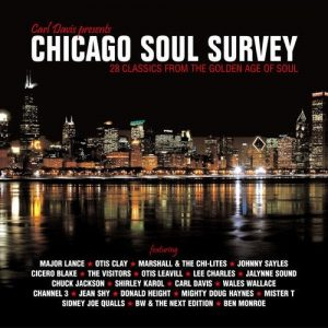 Chicago Soul Survey - Various Artists CD (Grapevine)