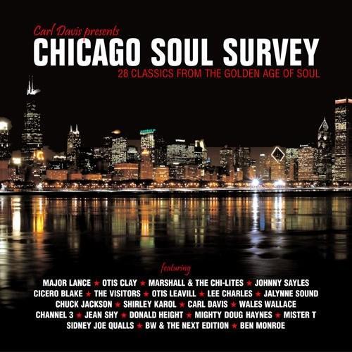 Chicago Soul Survey - Various Artists CD (Grapevine)
