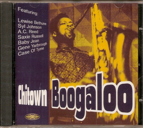 Chitown Boogaloo CD