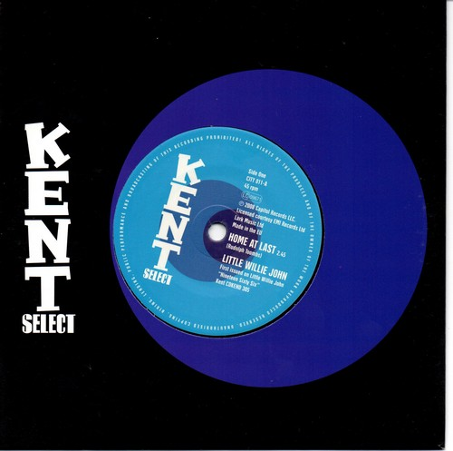 "Little Willie John - Home At Last / (I Need) Someone 45 (Kent) 7"" Vinyl"