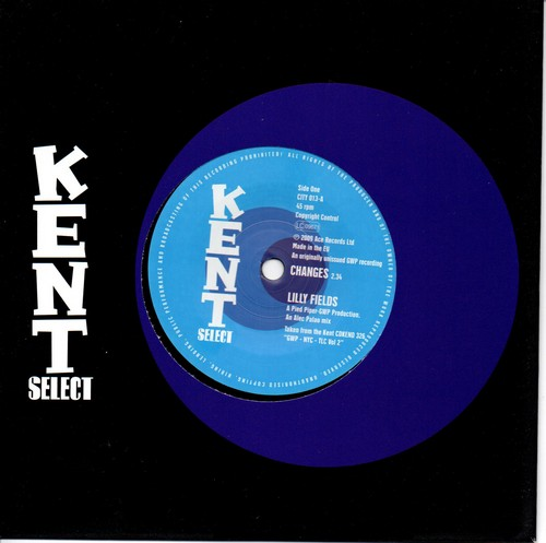 "Lilly Fields - Changes / Shaladons - We Can Do It 45 (Kent) 7"" Vinyl"