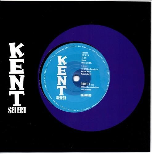 "Darondo - Didn't I / Saving My Love 45 (Kent) 7"" Vinyl"