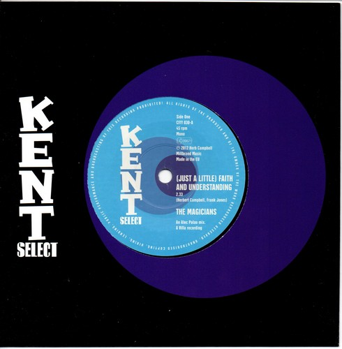 "Magicians - (Just A Little) Faith And Understanding / Marva Holiday – Rising Higher 45 (Kent) 7"" Vinyl"