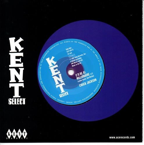 Chuck Jackson - (I'd Be A) Millionaire / Maxine Brown - It's Torture 45