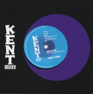 """EEddie & Ernie - Indication / Nice To Be Near 45 (Kent) 7"""" Vinyl"""