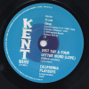 California Playboys - Just Say A four Letter Word (Love) / She's A Real Sweet Woman 45