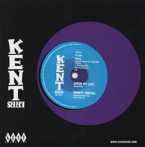 """Mighty Whites - Given My Life / Jacqueline Jones - A Frown On My Face 45 (Kent) 7"""" Vinyl"""