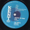 The Staple Singers - Trippin' On Your Love / The Temprees - That's Why I Love You 45