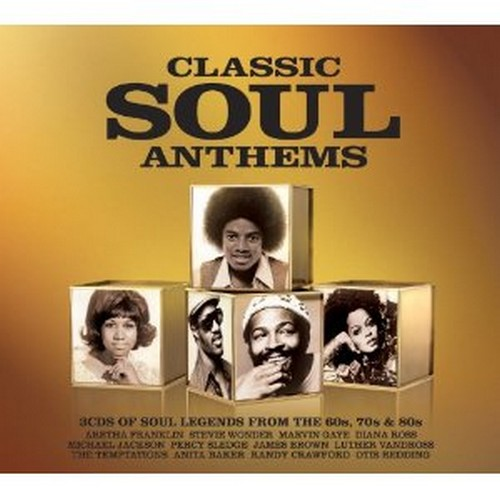 Classic Soul Anthems - Soul Legends From The 60s, 70s & 80s 3X CD-0