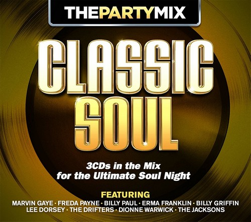 Classic Soul The Party Mix 3x CD
