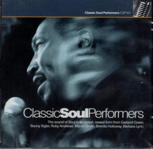 Classic Soul Performers - Various Artists CD (Live Recordings)