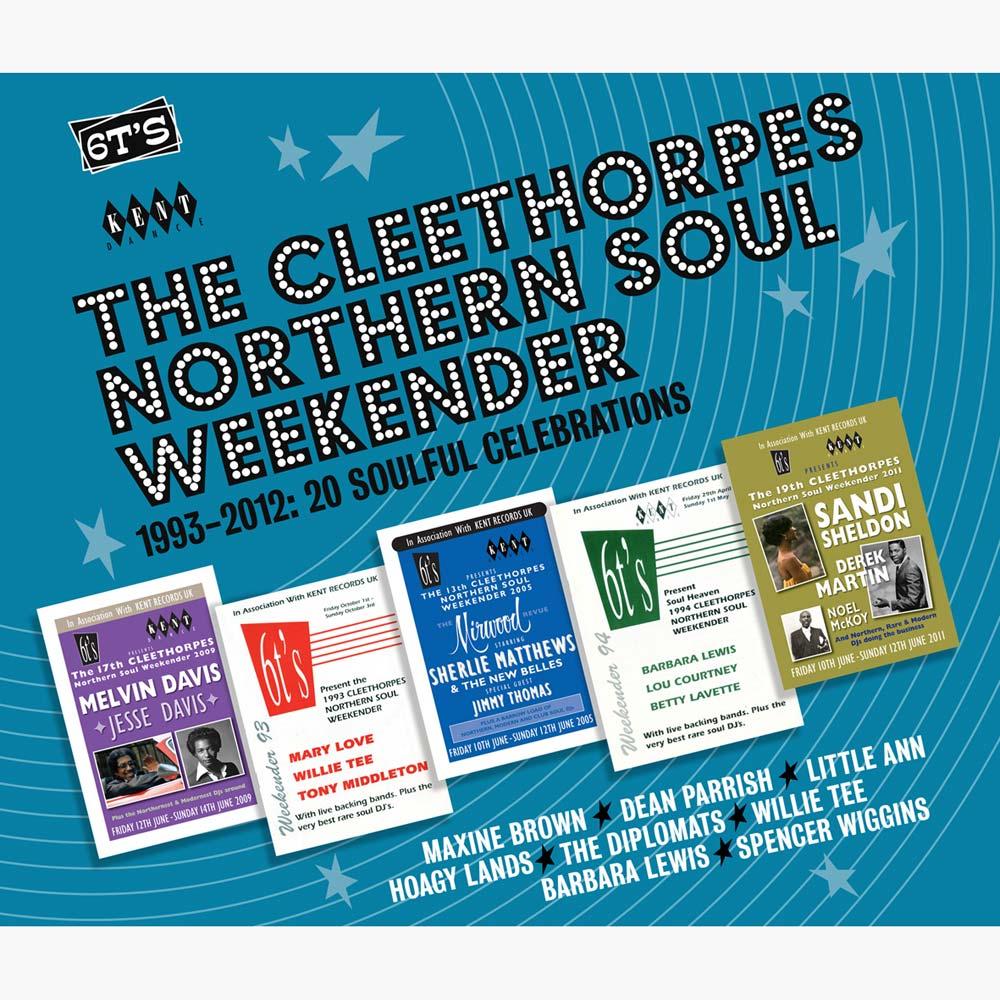 Cleethorpes Northern Soul Weekender 1993-2012 CD (Kent)