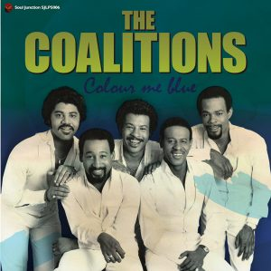 The Coalitions - Colour Me Blue LP Vinyl (Soul Junction)