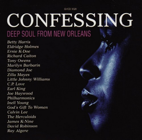 Confessing - Deep Soul From New Orleans CD Album (Grapevine)