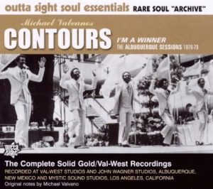 Michael Valvano's Contours - I'm A Winner - The Albuquerque Sessions CD