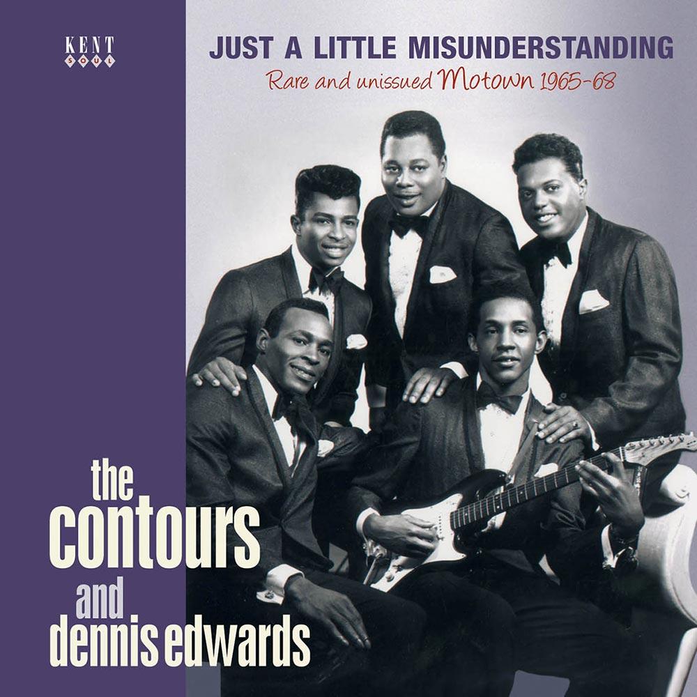 Contours And Dennis Edwards – Just A Little Misunderstanding CD (Kent)
