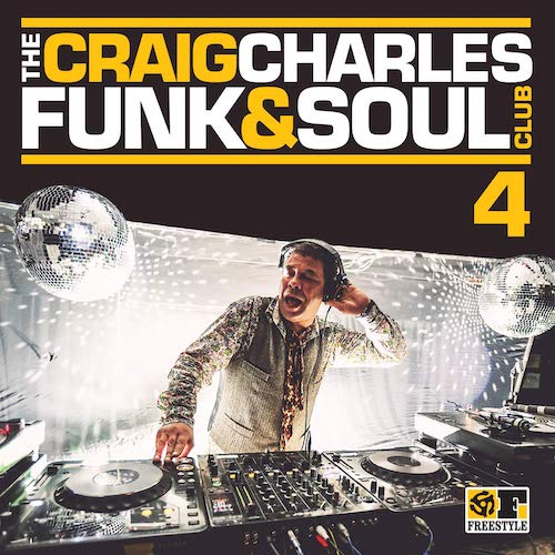 Craig Charles Funk & Soul Club 4 - Various Artists CD (Freestyle)