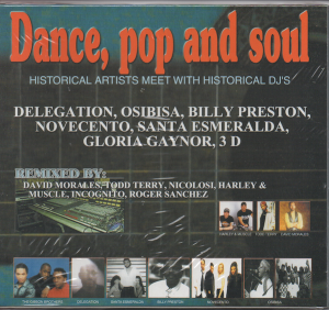 Dance, Pop and Soul - Historical Artists Meet With Historical DJ's - Various Artists CD (Just Music)