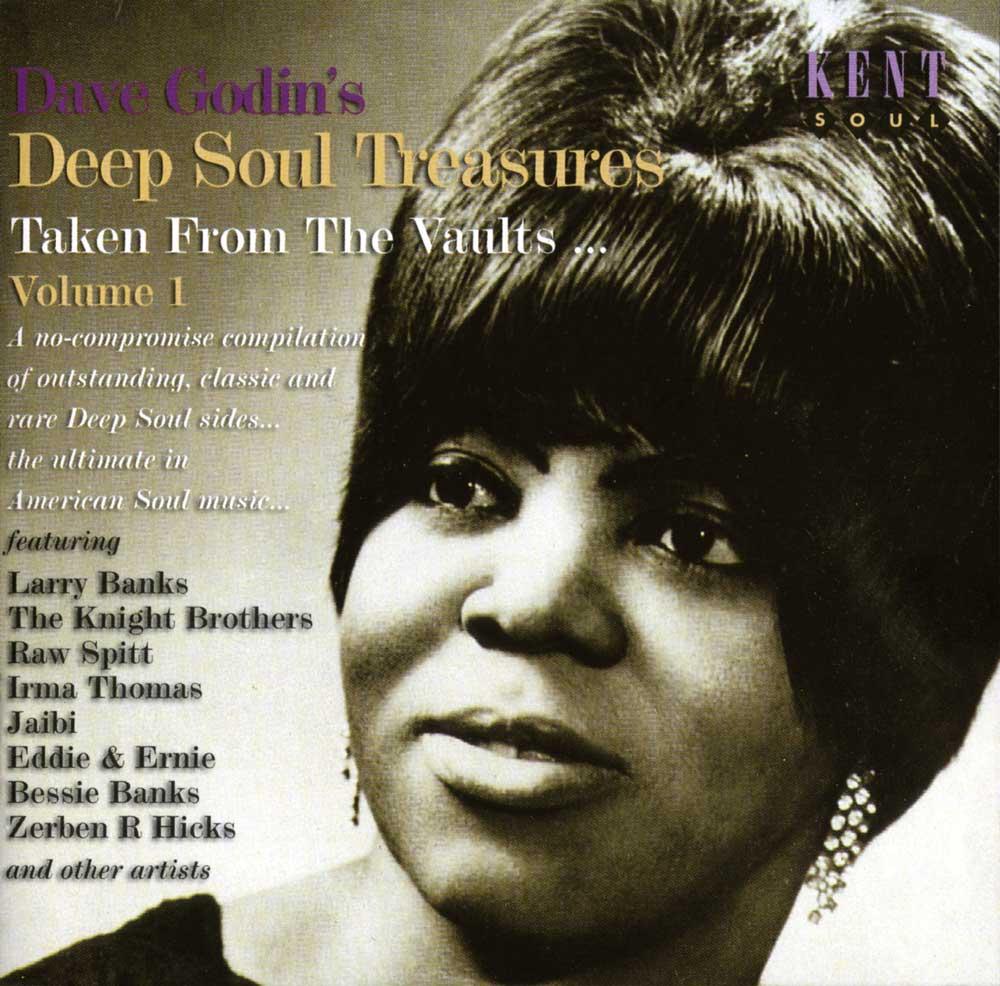 Dave Godin's Deep Soul Treasures Volume 1 CD