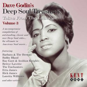 Dave Godin's Deep Soul Treasures Volume 3 - Various Artists CD (Kent)