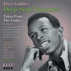 Dave Godin's Deep Soul Treasures Volume 4 - Various Artists CD (Kent)