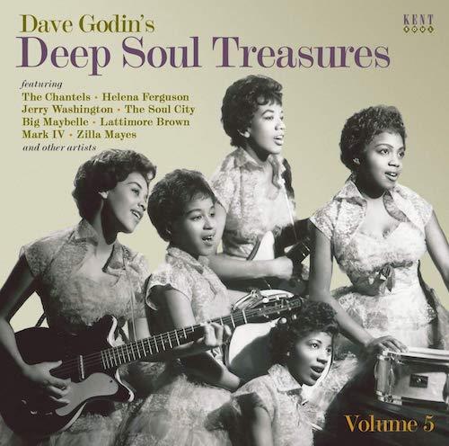 Dave Godin's Deep Soul Treasures Volume 5 - Various Artists CD (Kent)