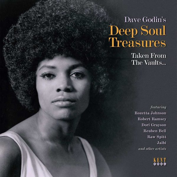 Dave Godin's Deep Soul Treasures Taken From The Vaults LP Vinyl (Kent)