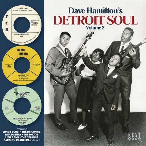 Dave Hamilton's Detroit Soul Volume 2 CD