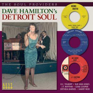 Dave Hamilton's Detroit Soul - Various Artists CD (Kent)