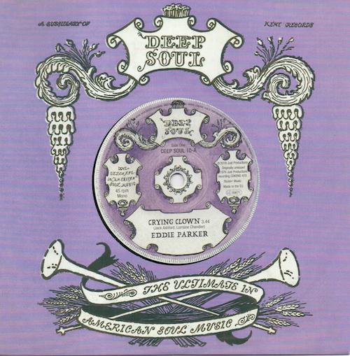 "Eddie Parker - Crying Clown / Sandra Richardson - Deserted Garden 45 (Deep Soul) 7"" Vinyl"