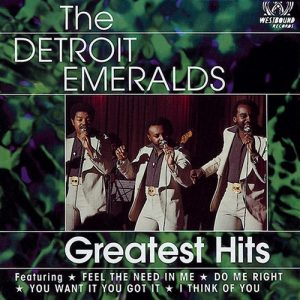 Detroit Emeralds - Greatest Hits CD (Westbound)