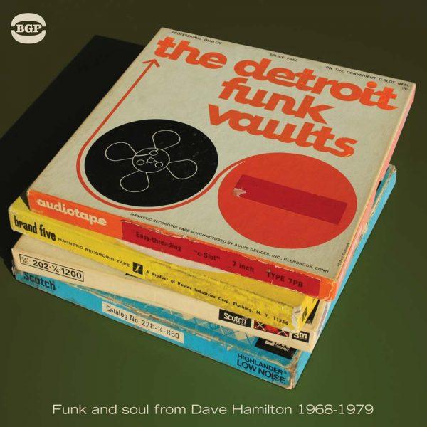 Detroit Funk Vaults - Various Artists CD (BGP)