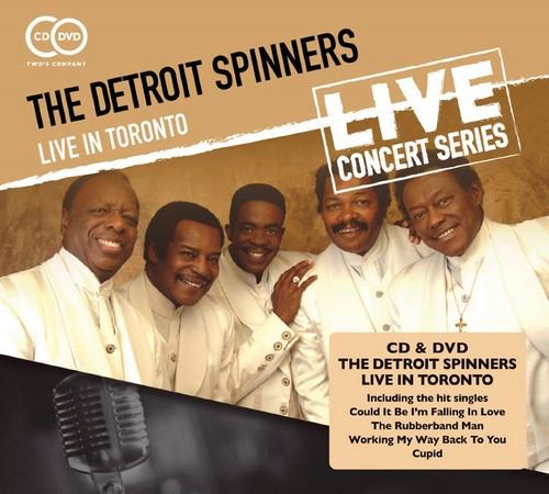 Detroit Spinners - Live In Toronto CD+DVD Set (Wienerworld)