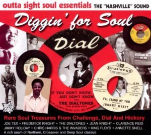 Diggin' For Soul - Rare Soul Treasures From Challenge, Dial and Hickory CD -0