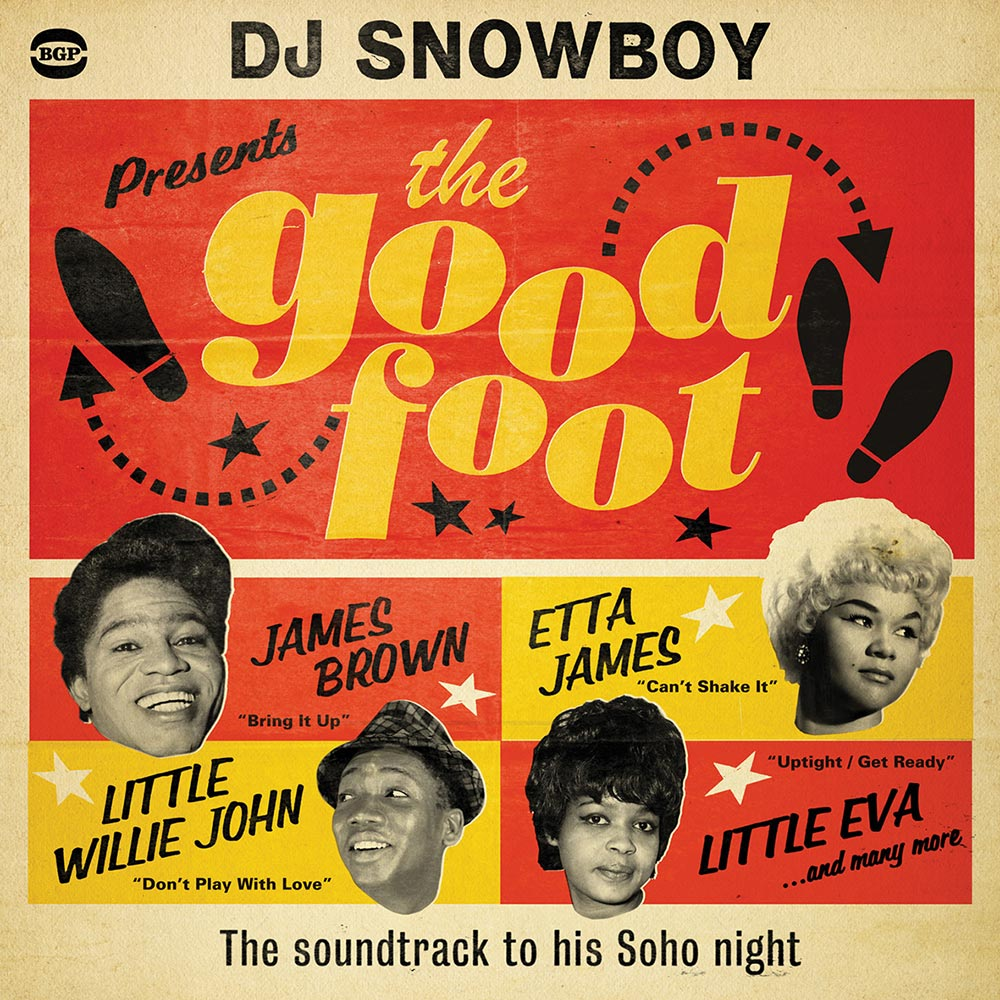 DJ Snowboy Presents The Good Foot – The Soundtrack To His Soho Night 2X LP