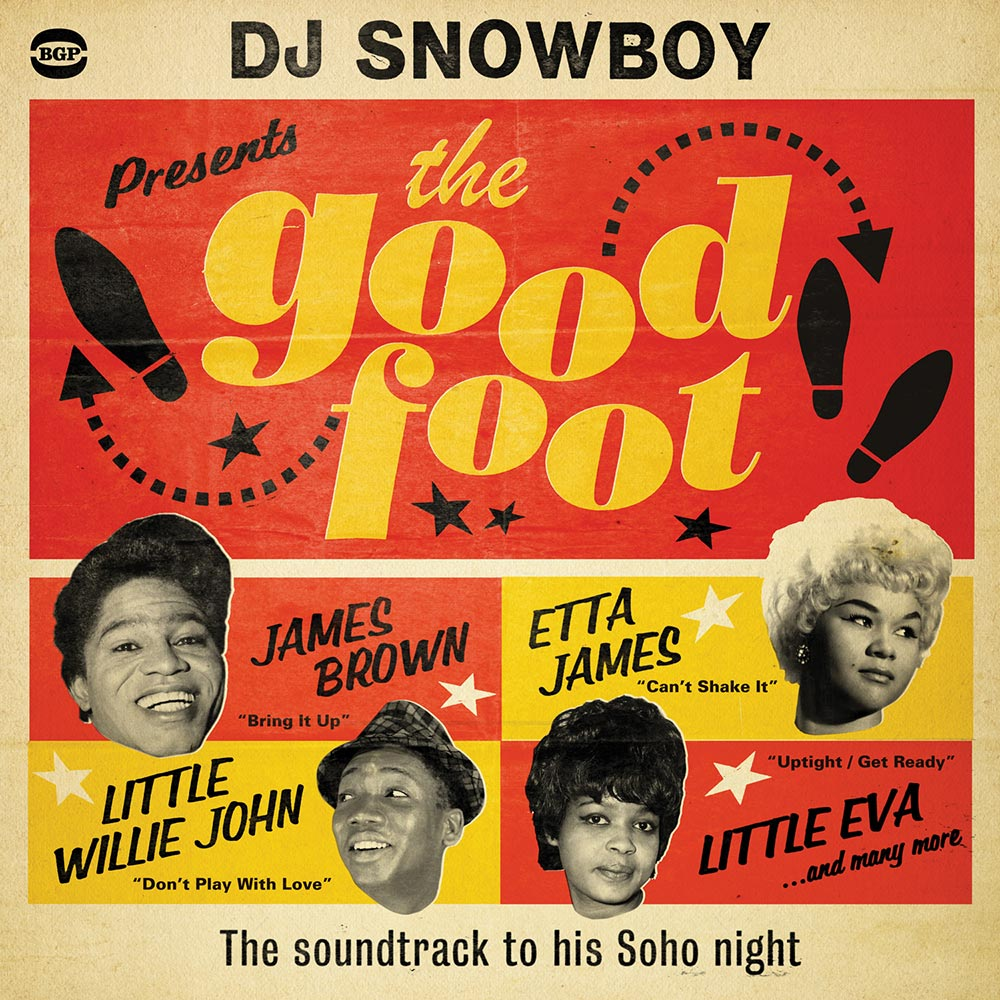 DJ Snowboy Presents The Good Foot CD