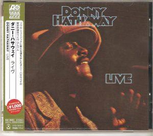 Donny Hathaway - Live CD (Warner)