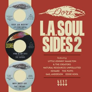 Dore L.A Soul Sides Volume 2 - Various Artists CD (Kent)