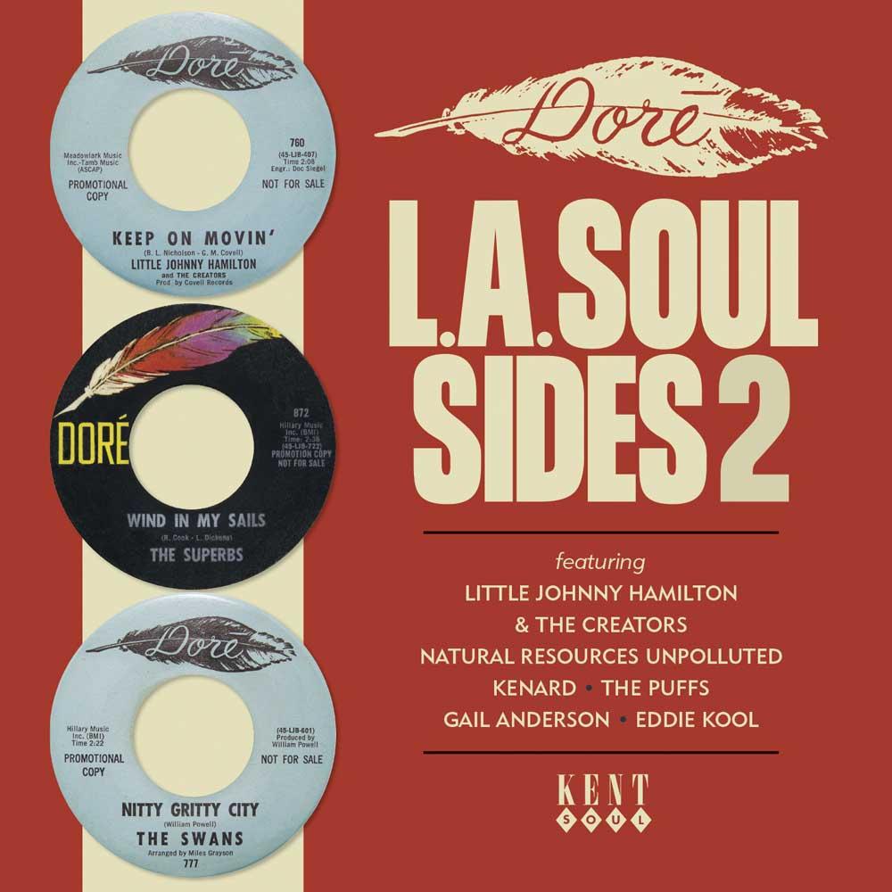 Dore L.A Soul Sides Volume 2 – Various Artists CD (Kent)