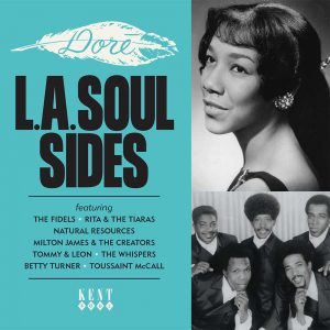 Dore L.A Soul Sides Volume 1 - Various Artists CD (Kent)