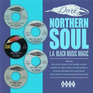 Dore Northern Soul - L.A Black Music Magic LP-0