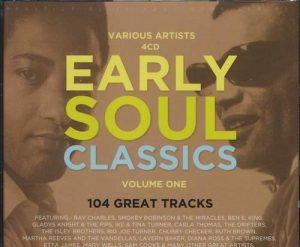 Early Soul Classics 4X CD