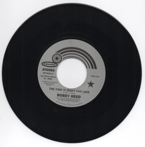 Bobby Reed - The Time Is Right For Love / If I Don't Love You 45