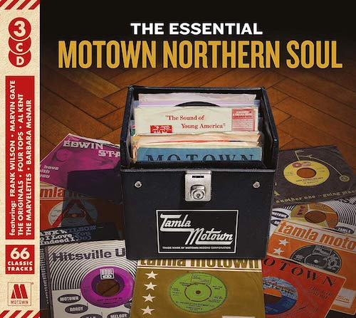 The Essential Motown Northern Soul 3X CD