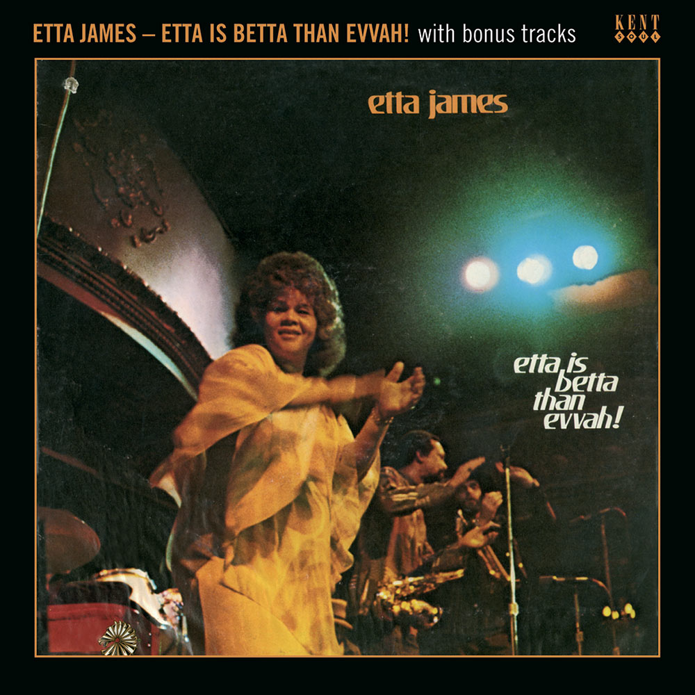 Etta James – Etta Is Betta Than Evvah! With Bonus Tracks CD