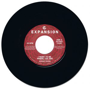 """Ronnie Dyson - I Want To Be Where You Are / I Don't Wanna Cry 45 (Expansion) 7"""" Vinyl"""
