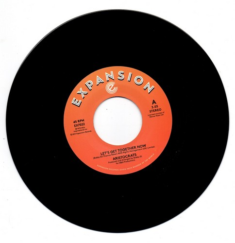 """Aristocrats - Let's Get Together Now / Loving You Is Mellow 45 (Expansion) 7"""" Vinyl"""