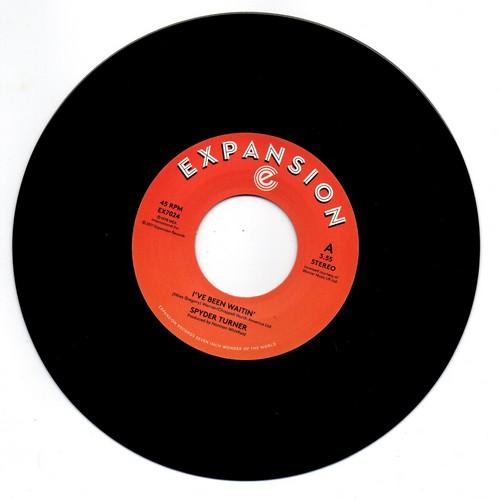 """Spyder Turner - I've Been Waitin' / Get Down 45 (Expansion) 7"""" Vinyl"""