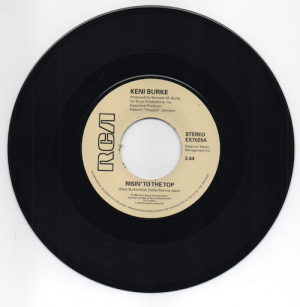 Keni Burke - Risin' To The Top / Hang Tight 45